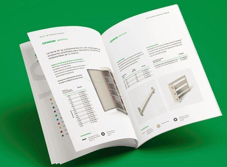 Mirá el nuevo catálogo de los gabinetes S97 de GENROD