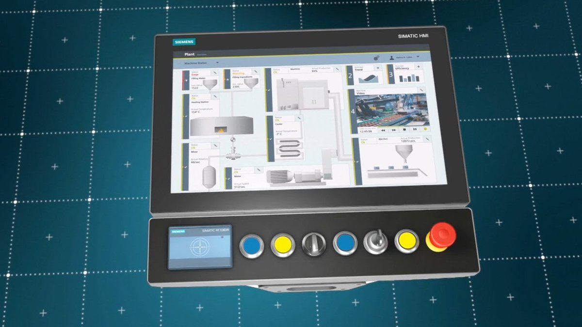 Siemens presenta Panel con grado de protección IP65 integral y Panel PC para control y supervisión