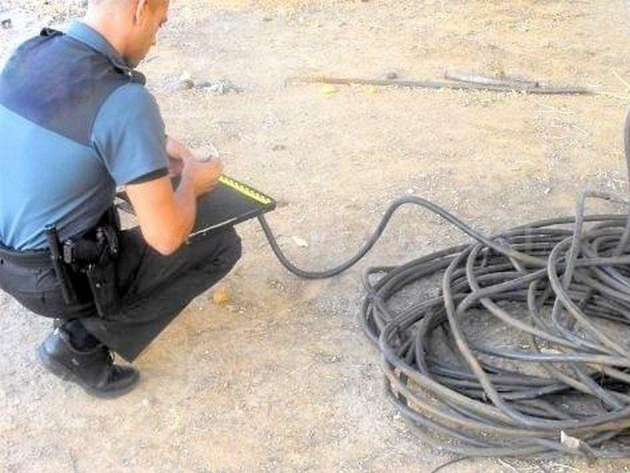 Santa Fe: preocupación de las autoridades por el robo de 8000 metros de cables
