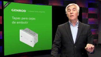 Genrod presenta las tapas para cajas de embutir