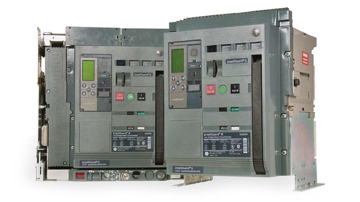 Interruptores automáticos abiertos. General Electric - Entelliguard G