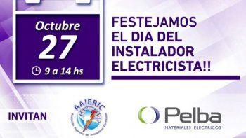 Festejamos el Día del Instalador Electricista en Pelba