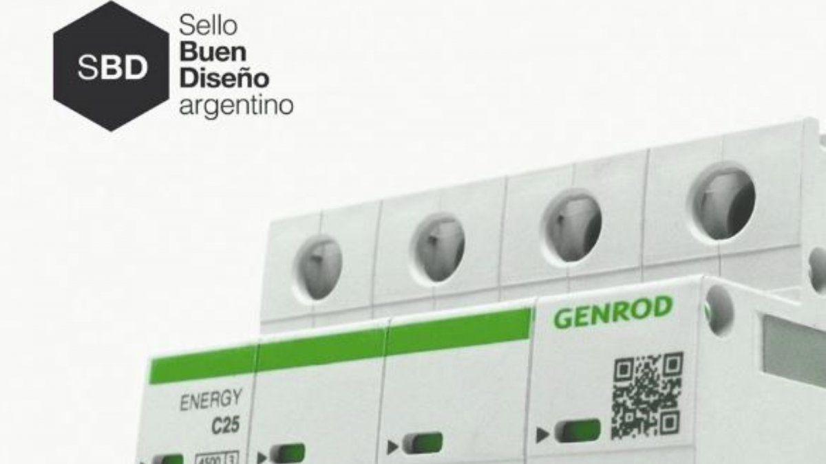 Genrod fue distinguida con el Sello de Buen Diseño