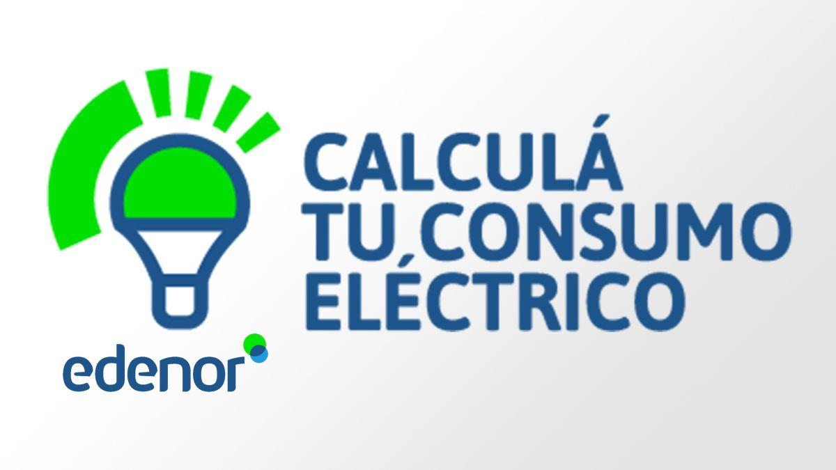 Calculá tu consumo eléctrico