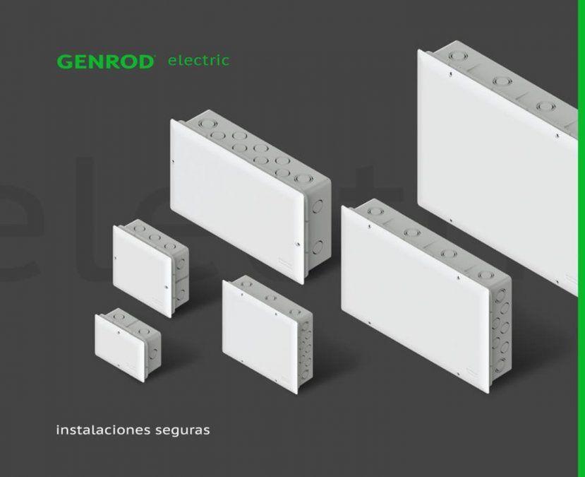Nuevas cajas de pase de embutir de GENROD
