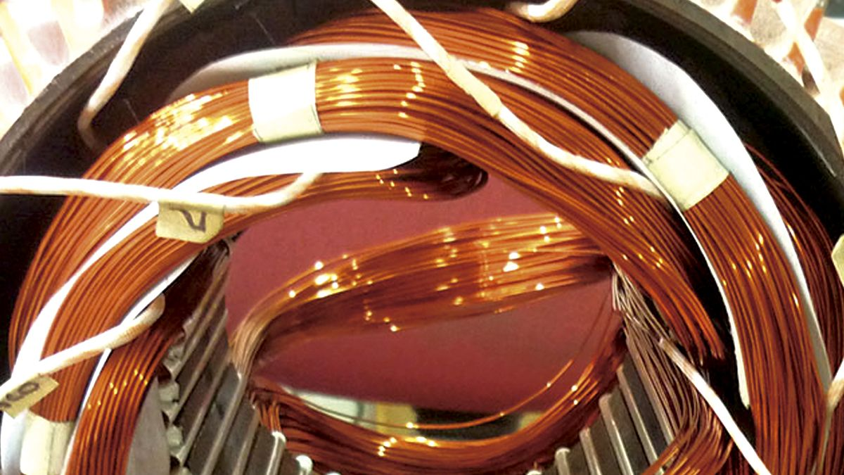 Prueba de comparación de impulsos en devanados estatóricos de máquinas eléctricas rotativas