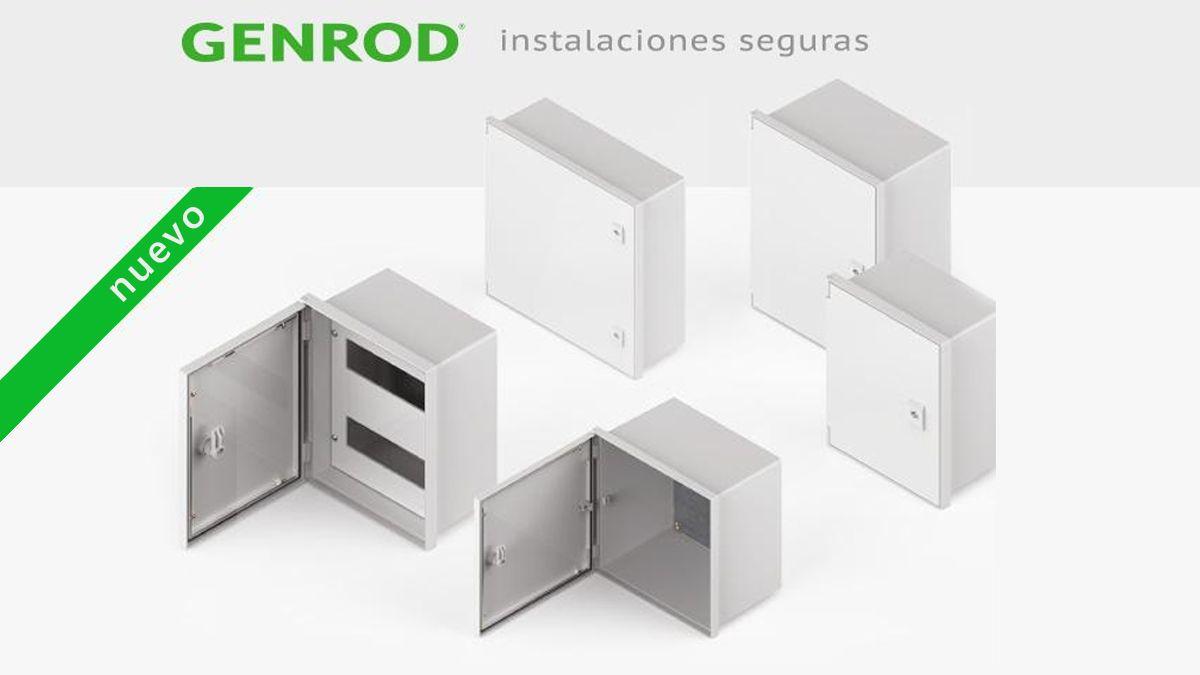 Nuevos gabinetes estancos Q Energy, de Genrod