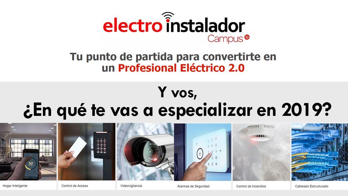 ¡No te pierdas Campus Electro Instalador!
