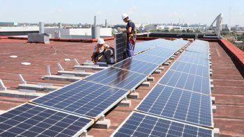 Siemens instala paneles solares en sus oficinas de Vicente López