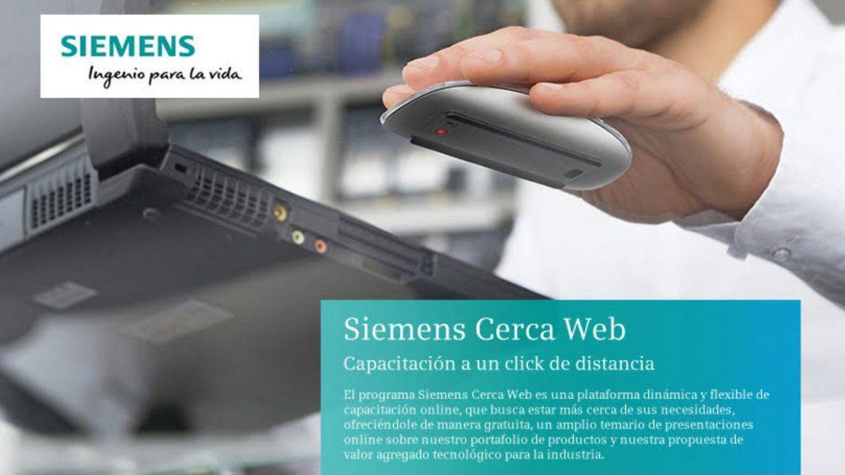 En abril comienza Siemens Cerca Web