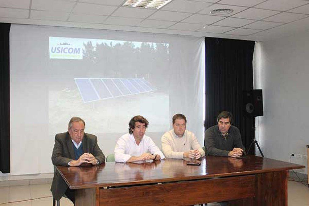 Tandil: presentaron el Área de Energías Renovables