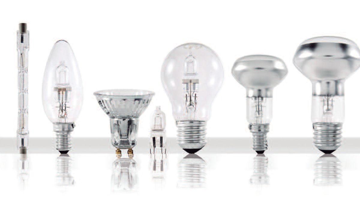 Desde 2020 no se podrán vender lámparas halógenas