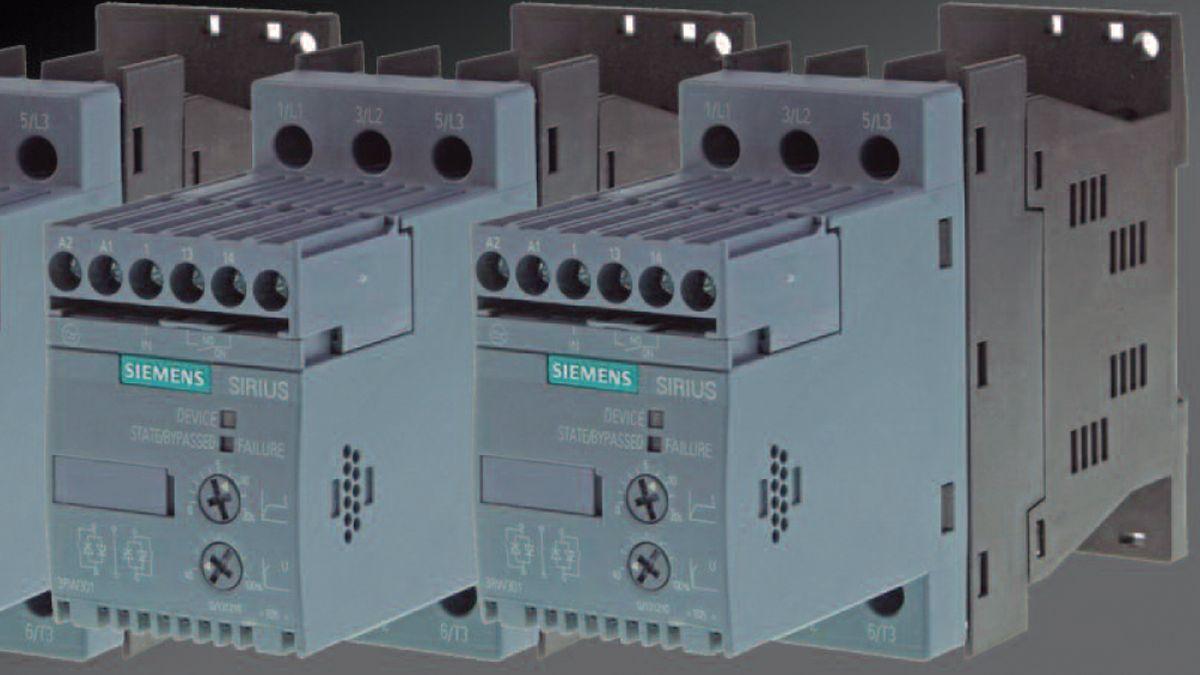 Arrancadores suaves electrónicos. Maniobra de varios motores, conexión en cascada
