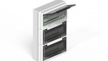 Así son las cajas IP65 para polos DIN de GENROD