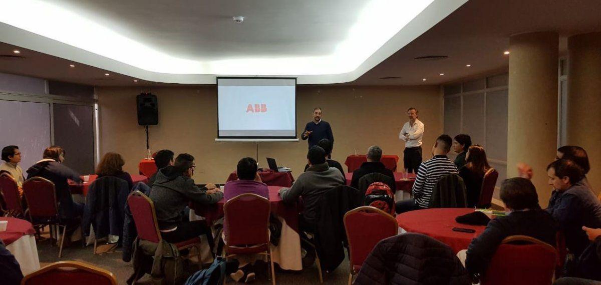 ABB capacitó a ingenieros y técnicos de la DPEC y Secretaría de Energía