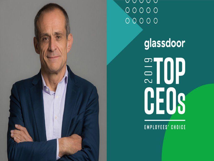 Jean-Pascal Tricoire de Schneider Electric fue elegido uno de los mejores CEO en 2019