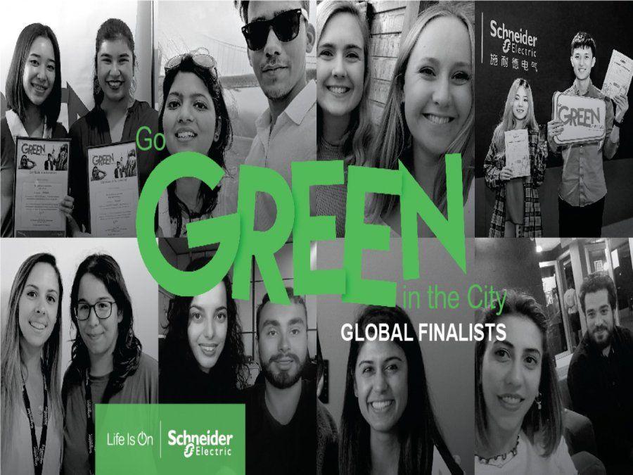 Schneider Electric anuncia los mejores equipos que irán a Barcelona para la final de la competencia Go Green