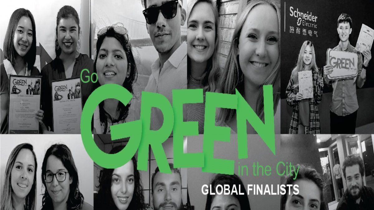 Schneider Electric anuncia los mejores equipos que irán ala final de la competencia Go Green