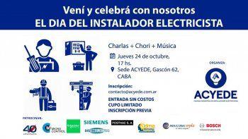 ACYEDE celebra el Día del Instalador Electricista