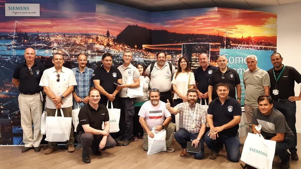 AAIERIC visitó a Siemens