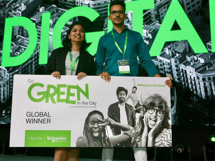 Baterías ecológicas a base de aloe vera ganan el concurso de estudiantes de Schneider Electric