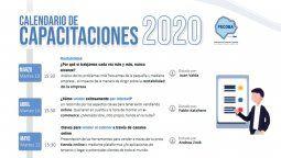 CADIME publicó su calendario de capacitaciones 2020