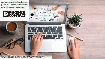 Mirá la agenda de julio de los cursos de Phoenix Contact