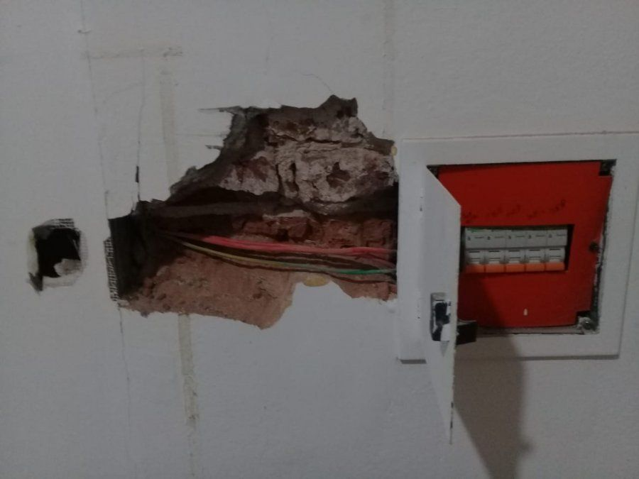 Inseguridad eléctrica en las instalaciones de Rafaela