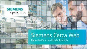 Siemens Cerca Web: Capacitate en Casa, plataforma dinámica y flexible de capacitación online