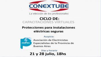 Capacitación sobre protecciones para instalaciones seguras, de CONEXTUBE