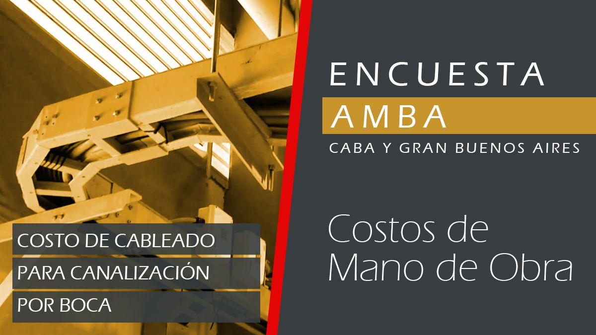 AMBA | Cableado para canalización por boca