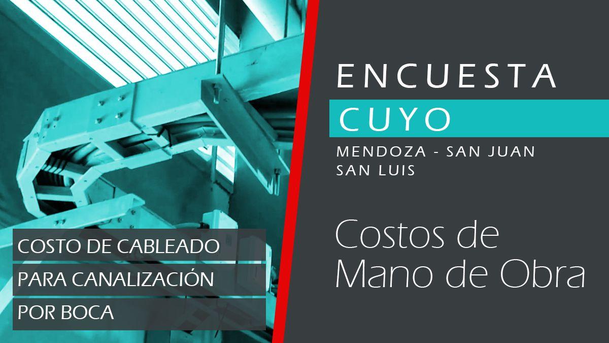 CUYO | Cableado para canalización por boca