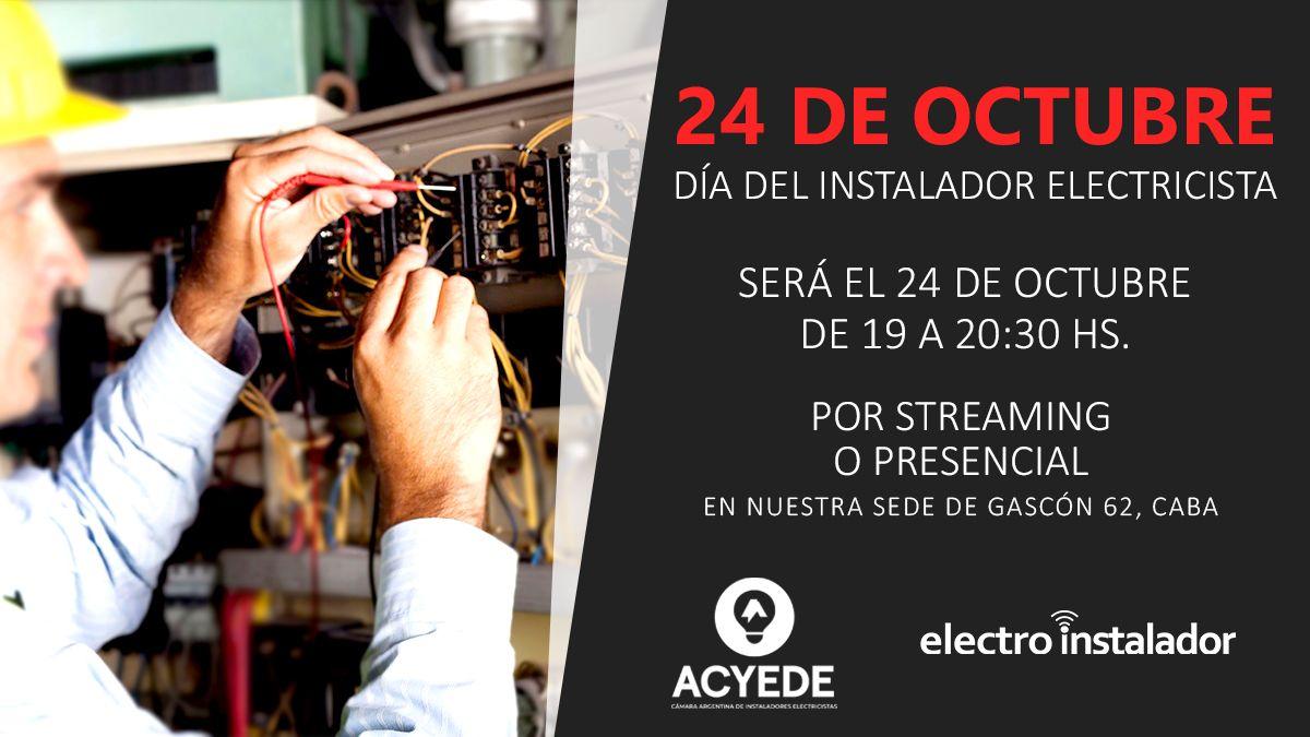 ACYEDE festeja el Día del Instalador Electricista