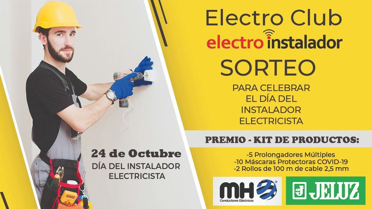 ¡Hay sorteo! Celebramos el Día del Instalador Electricista