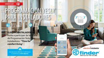 Webinar gratuito sobre Automatización Residencial para Instaladores