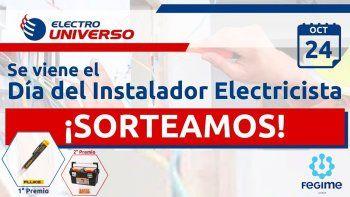 Gana premios con Electro Universo en el Día del Instalador