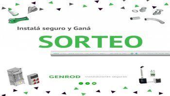 Sorteo de Genrod por el Día del Instalador