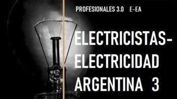 Conocé el trabajo del grupo Electricistas Electricidad Argentina