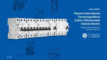 Nuevos Interruptores Termomagnéticos 4,5kA y Diferenciales General Electric
