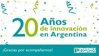 Phoenix Contact cumplió 20 años en Argentina