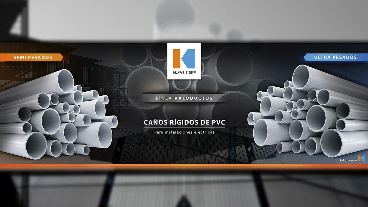 Kalop presenta su línea de caños rígidos de PVC: KALODUCTOS