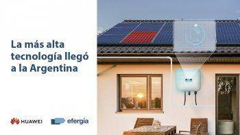 Huawei, líder mundial en equipamiento para energía solar, ya llegó a la Argentina