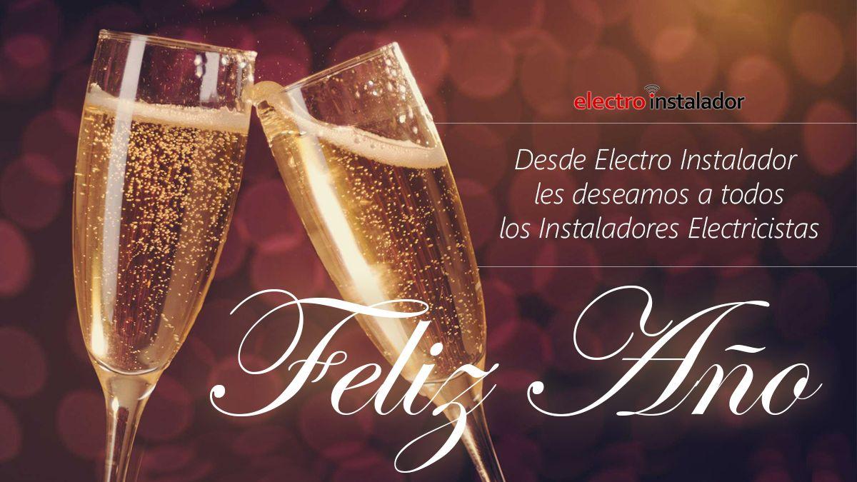 Les deseamos a todos los instaladores electricistas Feliz Año!