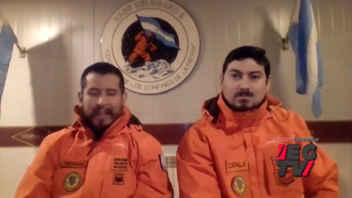 ¿Cómo es una instalación eléctrica en la Antártida?