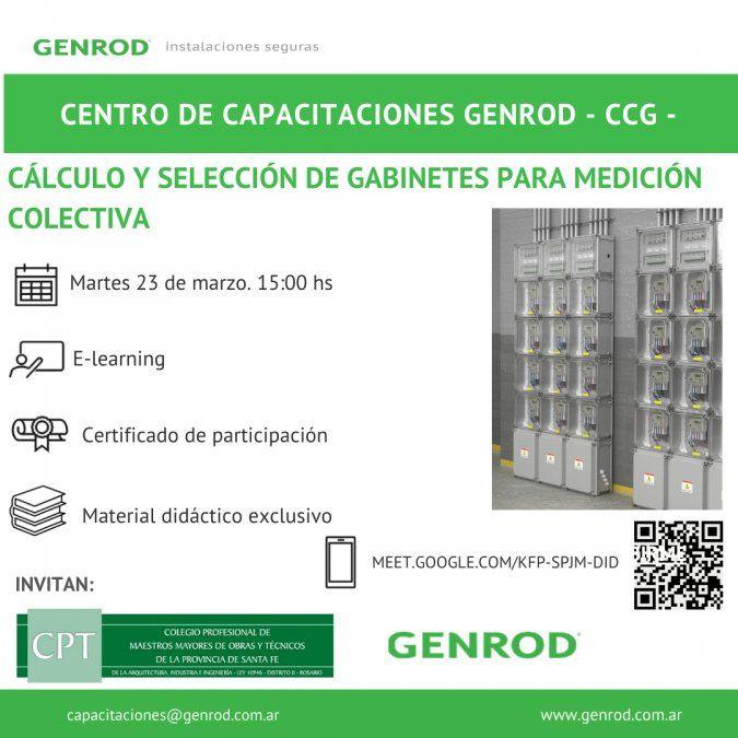GENROD: dos cursos gratuitos sobre gabinetes