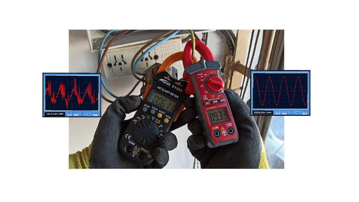 Instrumentos True RMS Vs RMS