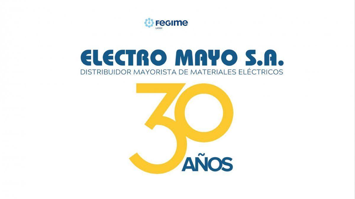 Electro Mayo cumple 30 años
