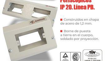 Instalá confiabilidad con los Periscópios IP 20 de Gabexel