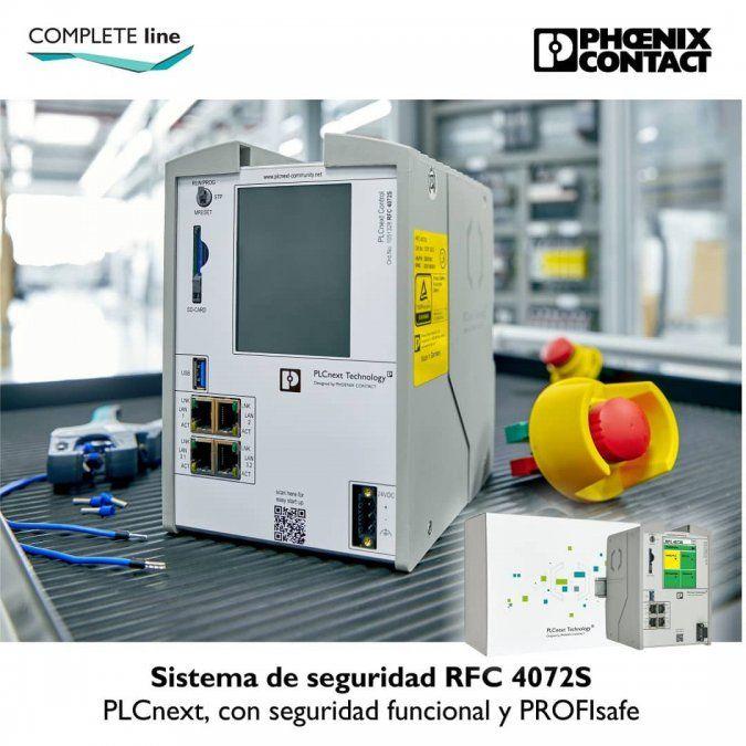 Así es el Sistema de seguridad RFC 4072S, de Phoenix Contact