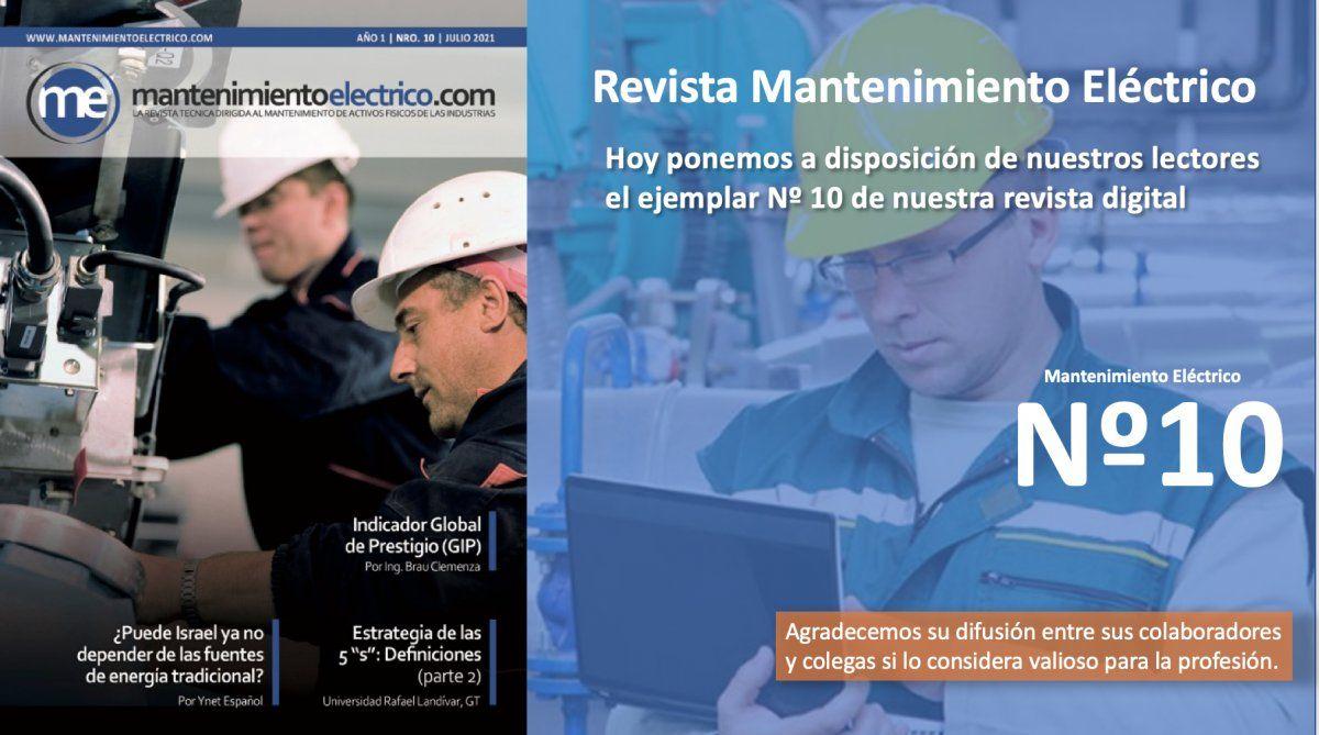 Revista Mantenimiento Eléctrico  Nº 10 | Julio 2021